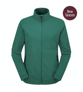 Stretch Microgrid Jacket Women's, Forest Green