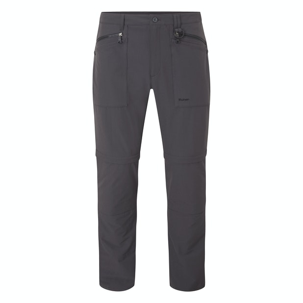 Stretch Bags Convertible Men's - Technical active hiking trousers that covert into shorts.