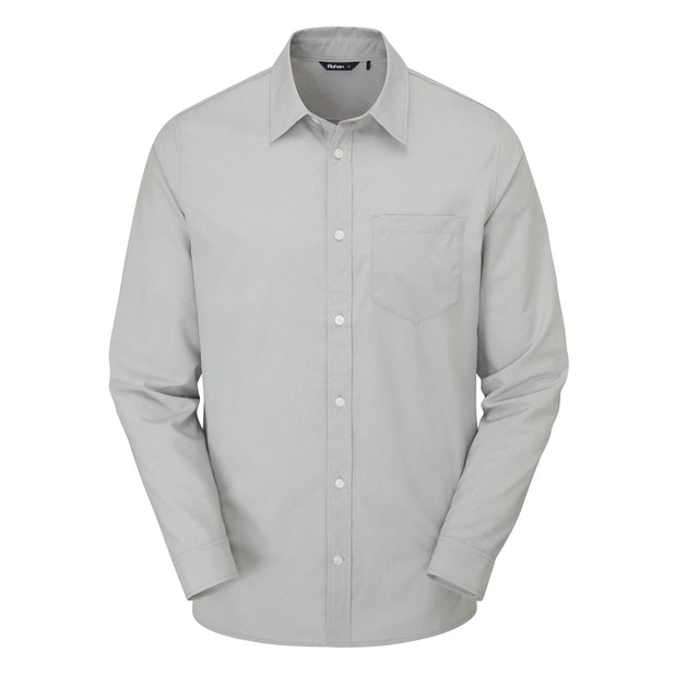 Richmond Shirt L/S M's - Soft and stretchy technical shirt with classic Oxford appearance.