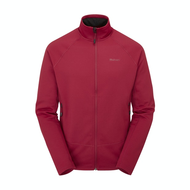 Moorland Jacket - Comfortable, stretchy mid-layer.