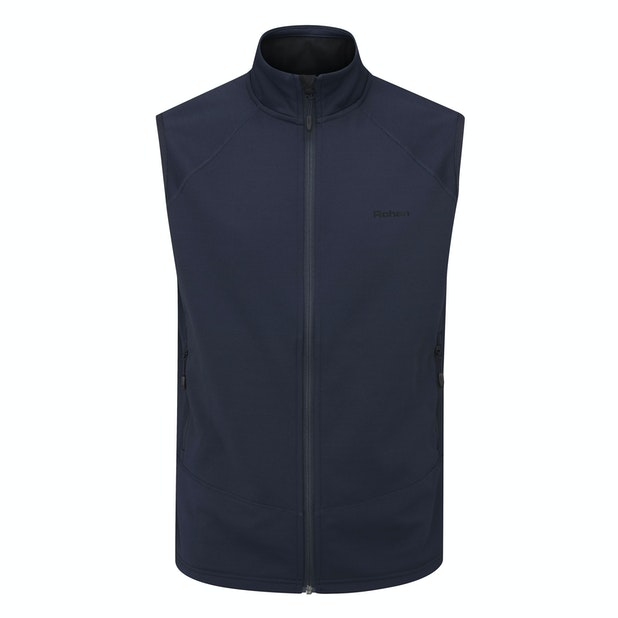 Moorland Vest  - A classic, durable and functional fleece vest