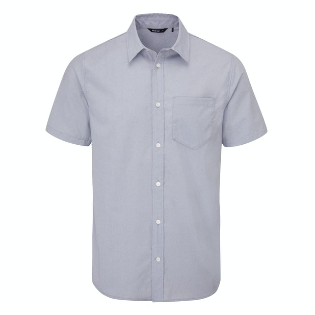 Richmond Shirt S/S Men's - Soft and stretchy technical shirt with classic Oxford appearance.