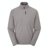 Men's Stretch Microgrid Zip Neck  - Alternative View 2
