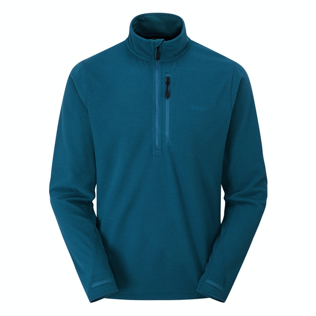 Stretch Microgrid Zip Neck  - Multi-purpose technical fleece overhead with incredible stretch.