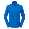 Women's Stretch Microgrid Zip Neck Top  - Alternative View 1