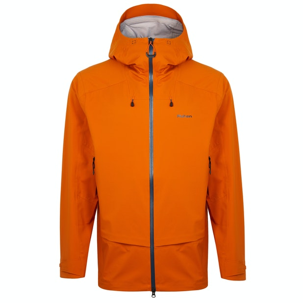 Ventus Jacket - A water-repellent outer, waterproof membrane with a moisture-wicking inner.