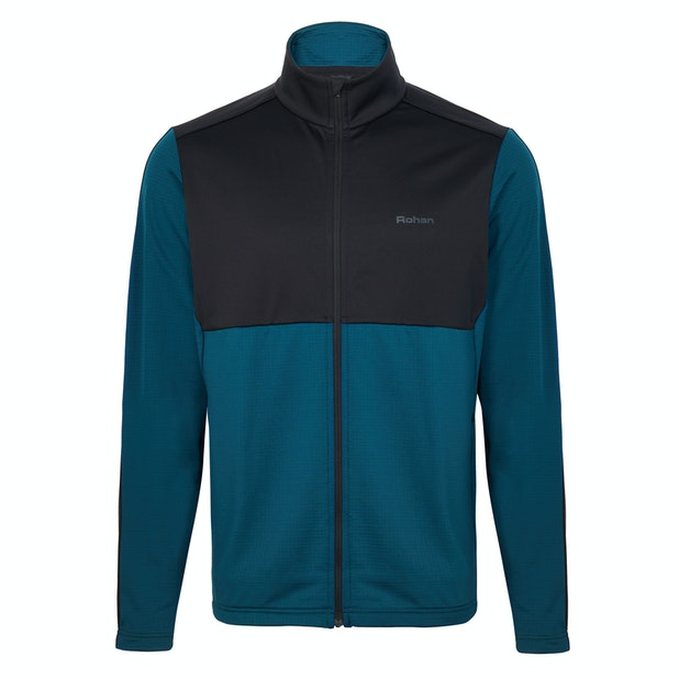 Tellus Fleece M's - A warm, soft, tough and durable brushed Fleece.
