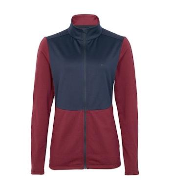 Women's Tellus Fleece, Chestnut Red/True Navy