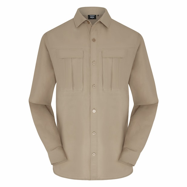 Pioneer Shirt Men's - Multi-pocketed expedition shirt packed with modern technology.