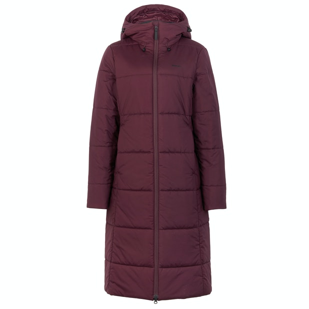 Harbour Coat - Long length, Lightweight coat with two types of insulation.