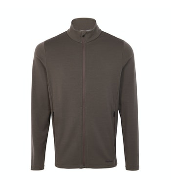 Radiant Merino Jacket, Dark Olive Brown