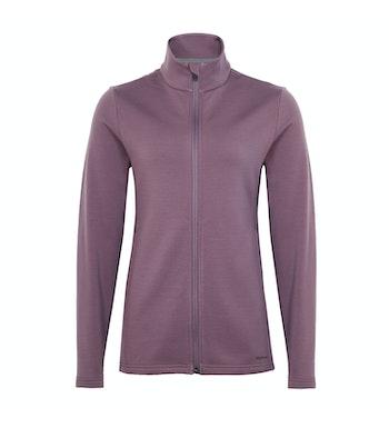 Radiant Merino Jacket, Mauve Purple