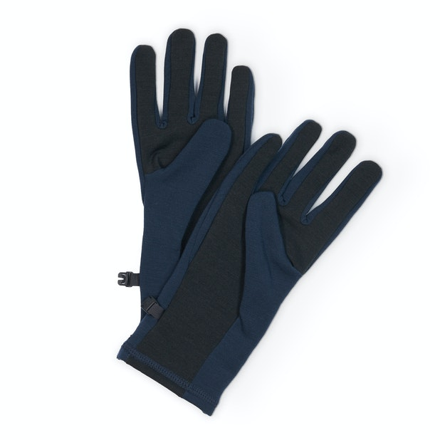 Radiant Merino Gloves - Clip together Merino wool gloves with fingertip conductive technology