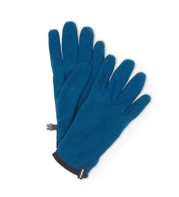 Stretch Microgrid Gloves, Tarn Blue