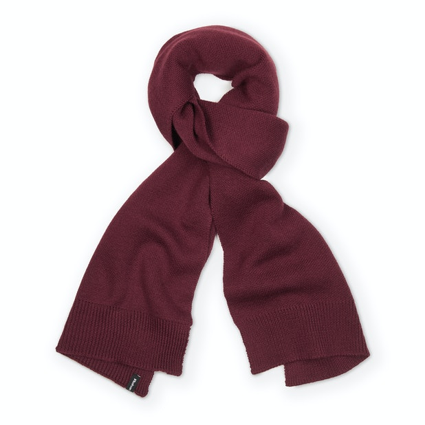 Brae Scarf - A warm and soft merino wool blend knitted scarf