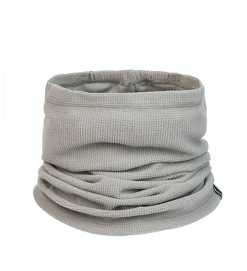 Stretch Microgrid Necktube, Anthracite Grey
