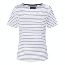 Soft, smart, technical short sleeved top.