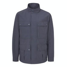Multi-pocketed expedition jacket packed with modern technology.