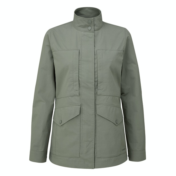 Women's Pioneer Jacket - Multi-pocketed expedition jacket packed with modern technology.