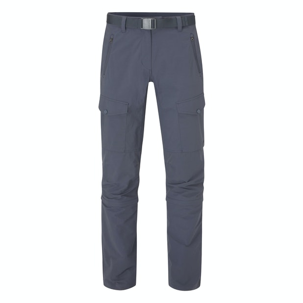 Pioneer Convertible Trousers Women's - Multi pocketed and insect repellent expedition trousers that convert into shorts.