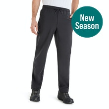 On Body - Lightweight, stretch, pull-on walking trousers.