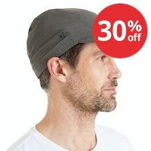 On Body - Insect repellent sun cap with cowl.