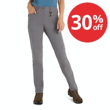 On Body - Technical, stretch trousers for year-round trekking.