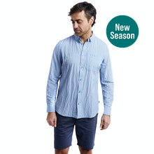 On Body - Smart-casual shirt with UV and insect protection.