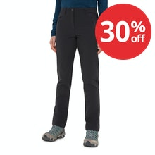 On Body - Technical, functional trekking trousers.