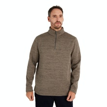 On Body - Classic mid-weight fleece with a ventilating neck zip.