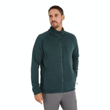 On Body - Technical fleece jacket with understated good looks.