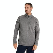 On Body - Technical fleece jacket with understated good looks.