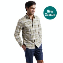 On Body - Lightweight, cotton-feel shirt for hot weather.