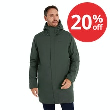 On Body - The ultimate winter waterproof coat for commuting or travel.