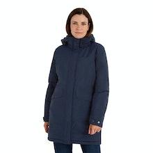 On Body - Waterproof, insulated winter coat.