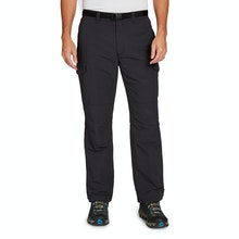 On Body - Tough walking trousers with a waterproof liner.