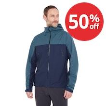 On Body - Lightweight, stretch outdoor waterproof.