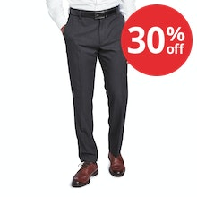 On Body - Ultra-crease resistant, technical travel suit trousers.