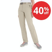 On Body - Insect repellent, convertible, stretch trekking trousers.