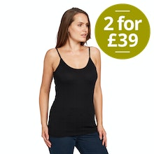 On Body - Lightweight, technical camisole.
