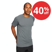 On Body - Lightweight, short-sleeved technical base layer.