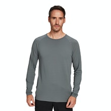 On Body - Lightweight, long-sleeved technical base layer.