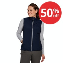 On Body - Highly packable, lightweight insulating vest.