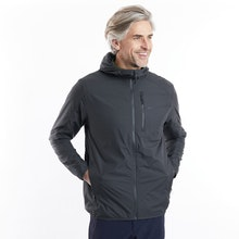 On Body - Insulating, water-resistant jacket with ultra-soft lining.