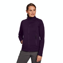 On Body - Active wear, cold-weather mid-layer with stretch.