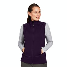 On Body - Active wear, cold-weather vest with stretch.