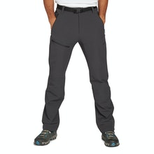 On Body - Trekking trousers with ample stretch and minimalist design.