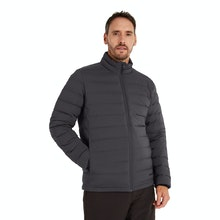 On Body - Down jacket with excellent warmth to weight ratio.