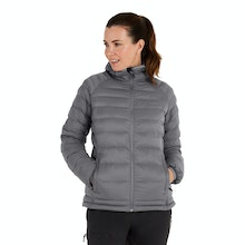 On Body - Cold-weather jacket with innovative insulation.