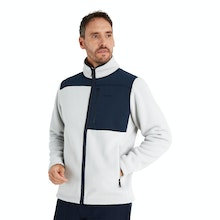 On Body - Very warm, high-pile fleece jacket with retro styling.